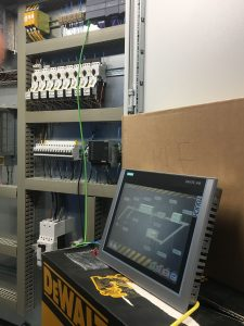 SRF Plant Control Panel and HMI
