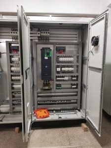 Large Size Mixer and Pump Control Panel